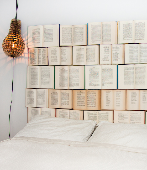 Make Headboard see how to make a book headboard for your bedroom – adorable home