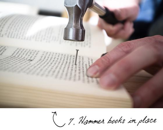 How to Make a DIY Book Headboard - Adorable Home