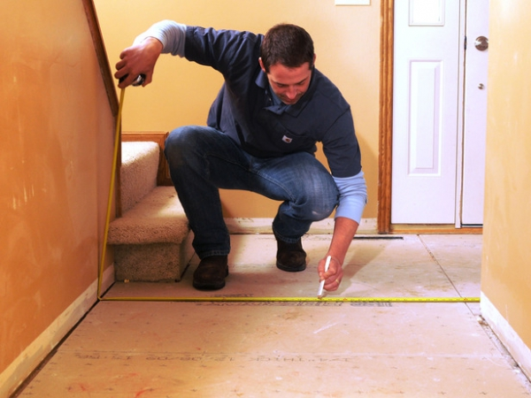 How to measure a room for flooring