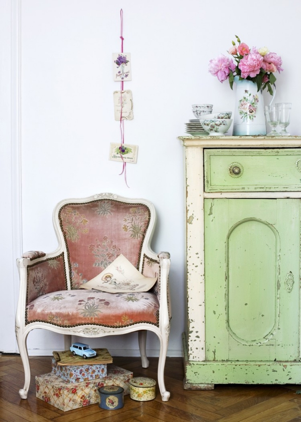 How to work with shabby chic