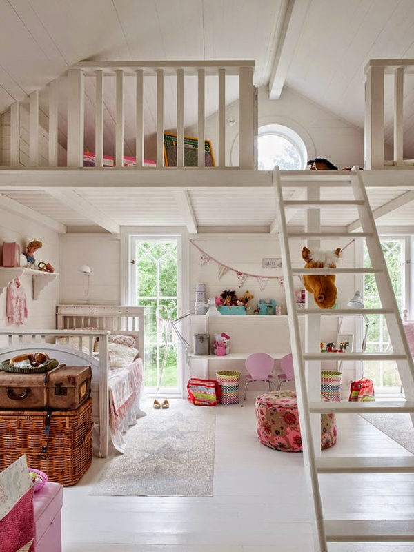 How to maximize the loft space in your home adorable home - Maximize small spaces property ...