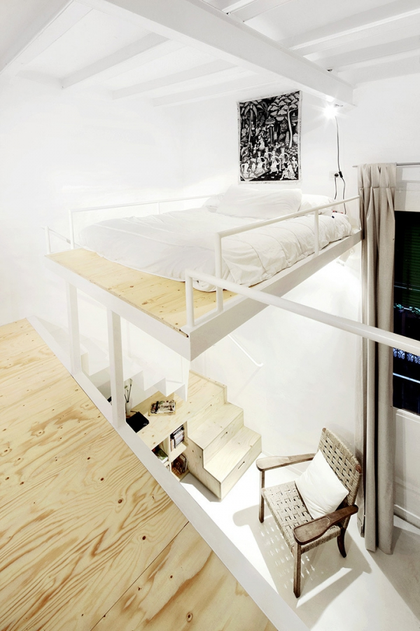 How to maximize the loft space in your home adorable home - The home in the loft space without borders ...