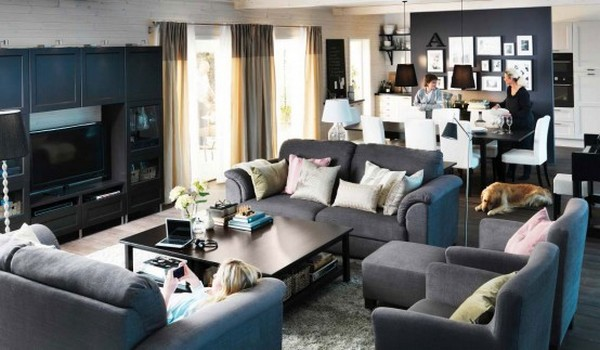 Ikea Living Room Designs Adorable Home