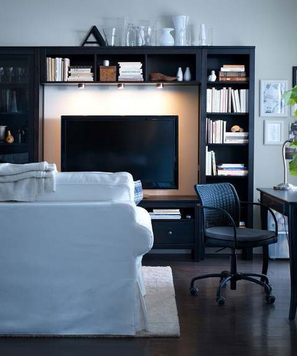 Customize Ikea Furniture Interior Design ~ Ikea living room designs adorable home