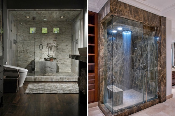 25 incredibly awesome showers adorable home for Les plus belles salle de bain du monde