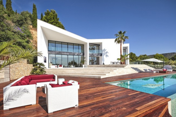Indulging In Contemporary Villa Design Adorable Home