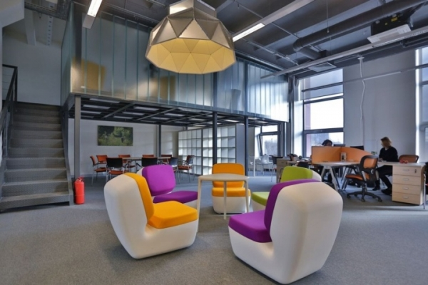 Industrial creative design adorable home for Commercial space design