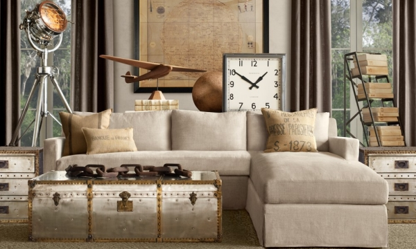 industrial influence in the home dcor adorable home - Industrial Home Decor