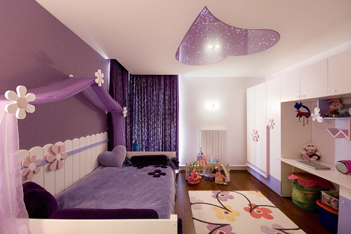Interior design in purple 13