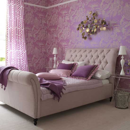 Interior design in purple 15