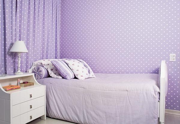 Interior design in purple 16