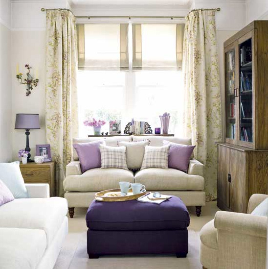 Living Room Lighting 20 Powerful Ideas To Improve Your: Interior Design In Purple