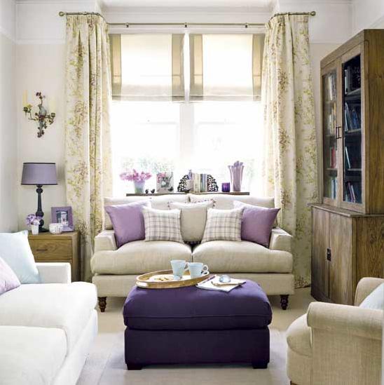 Interior design in purple 20