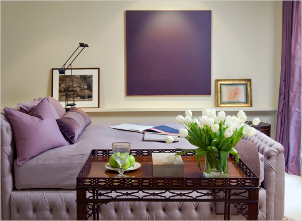 Interior design in purple » Adorable Home