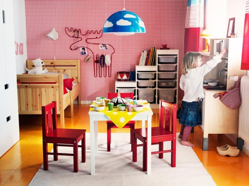 Kid s bedroom designs by ikea adorable home - Kids rooms inspiring design ideas ...