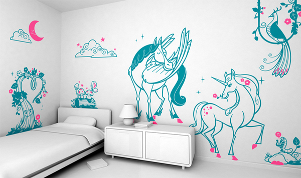 kids room wall decoration 6 - Kids Room Wall Design