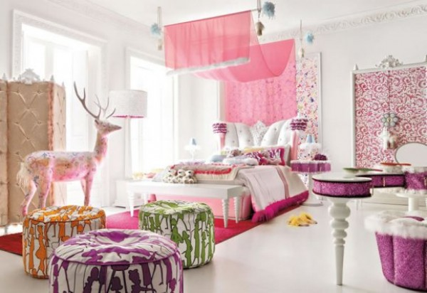 Little girl 39 s room design ideas adorable home - Purple room for girls ...
