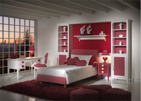 Beautiful design idea for teen girl\'s room in traditional style
