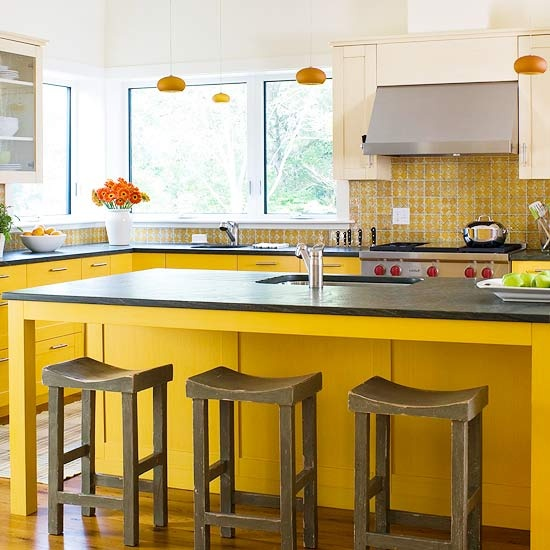 Kitchen island color ideas adorable home - Kitchen island color ideas ...