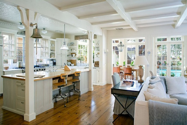 interior for kitchen lovely californian home with style 12655