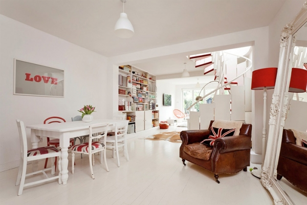 lovely-red-and-white-in-this-london-house-4