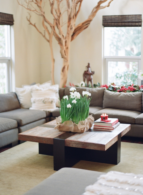 lovely spring living room decorating ideas – adorable home