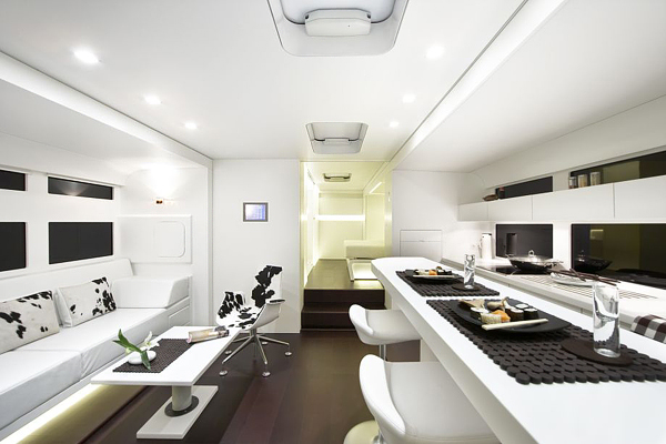 Luxurious And Futuristic Caravan Adorable Home