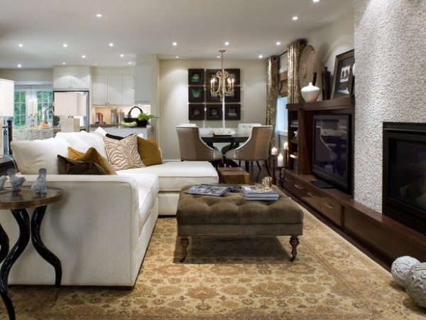 Luxurious And Intimate Living Room Interior Design
