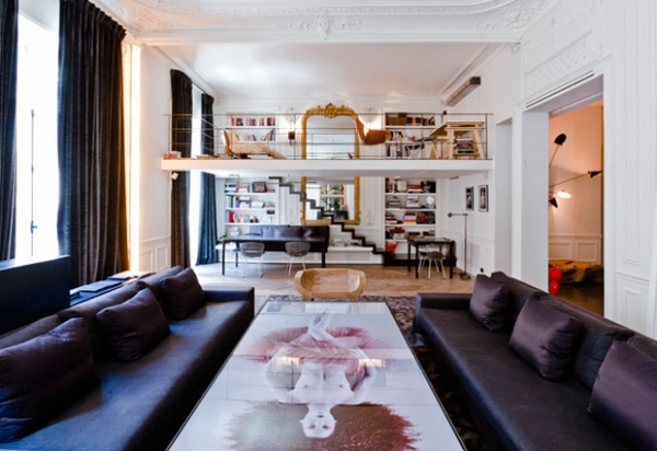 Awesome Luxury Apartment In Paris Adorable Home Nice Ideas