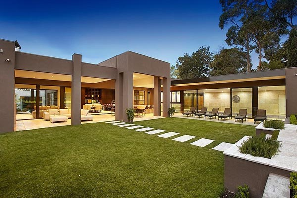 Luxury Single Level House In Australia Adorable Home