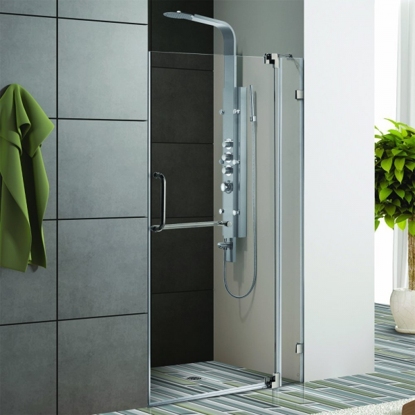 Making your bathroom look more spacious with a glass shower (2)