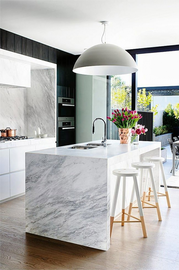 Marble Interior Marble Accents Latest Trend In Interior Design  Adorable Home