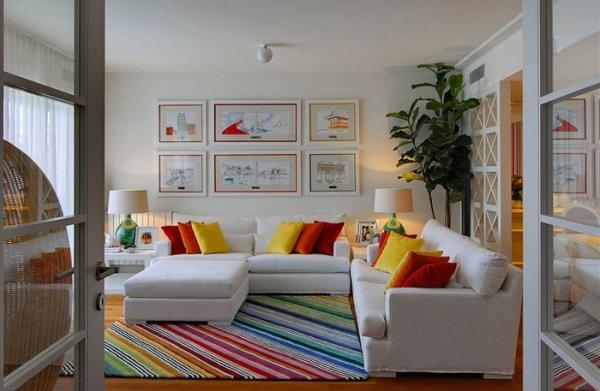 Colorful Interior Design By Maria Barros Adorable Home