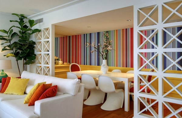 Maria Barros And Her Colorful Interior Design