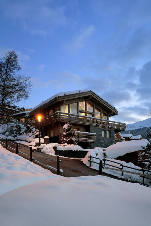 Luxury chalet design in the french alps adorable home for French chalet house plans