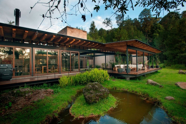 Mexican forest house what heaven looks like  (5)