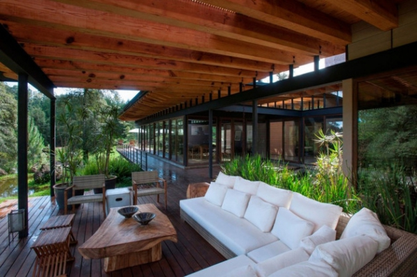 Mexican forest house what heaven looks like  (6)