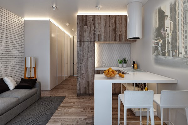 Minimal Loft Apartment In Kiev Adorable Home