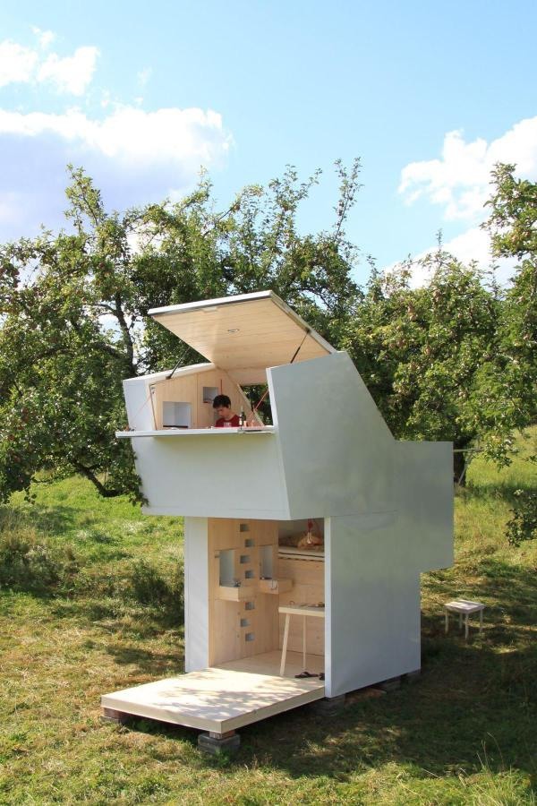 minimalist micro house perfect for personal time 1 - Micro House
