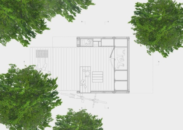 Minimalist micro house perfect for personal time