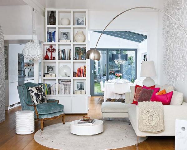 Mixing styles interior design