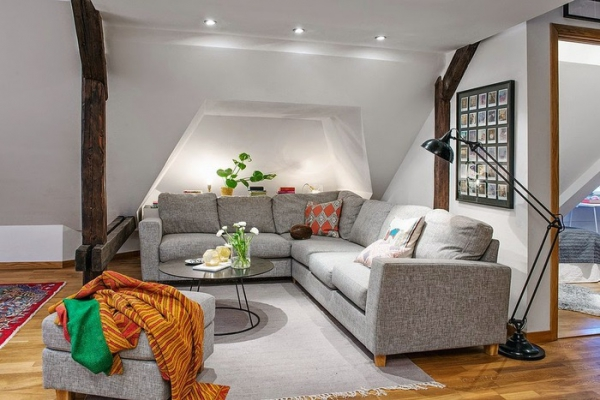 Modern attic apartment in gothenburg sweden u adorable home