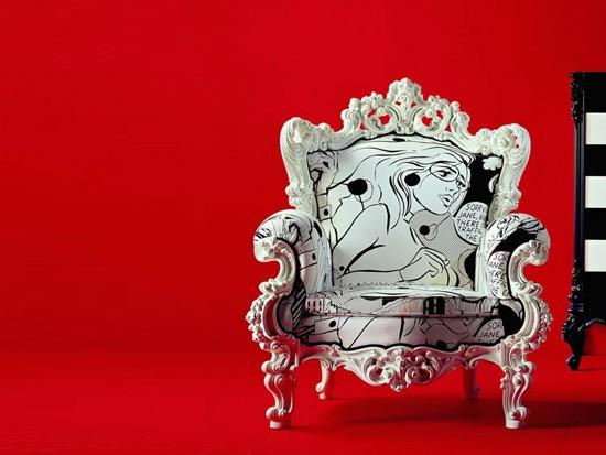 Modern Baroque Chair Designs Adorable Home