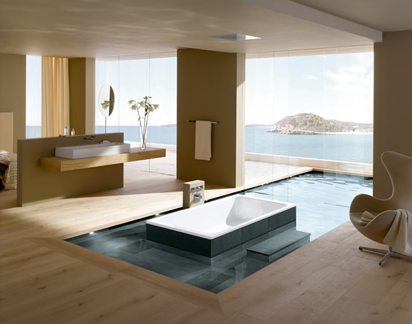 modern bathroom design ideas 12 - Modern Bathrooms Designs