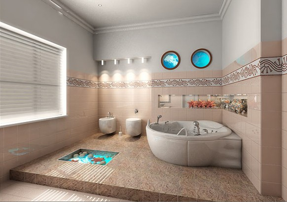 modern bathroom design ideas 7 - Modern Design Ideas