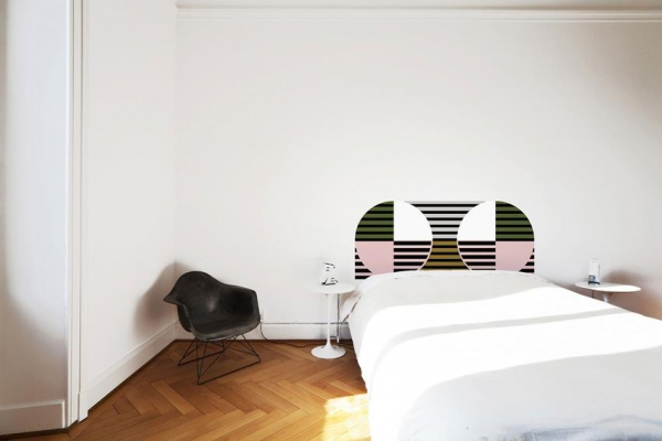 Modern decal headboards (2)