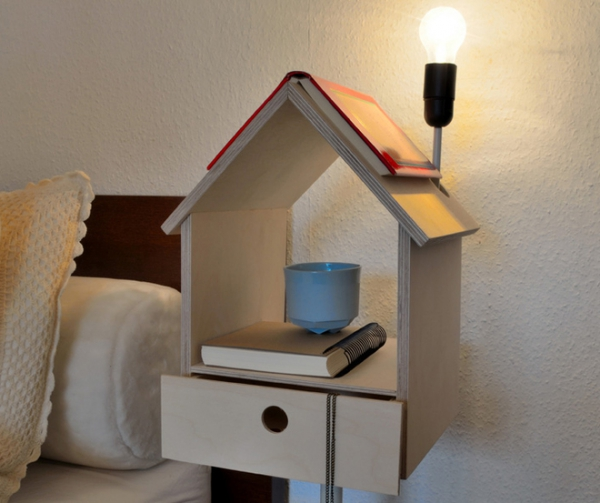 Nighthouse By Night Birdhouse Bedside Table Adorable Home