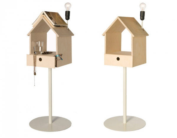 Nighthouse by Night birdhouse bedside table (3)