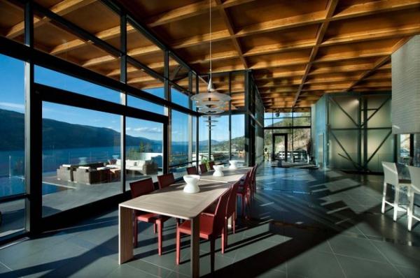 Modern lakeside house Kelowna Canada (10)
