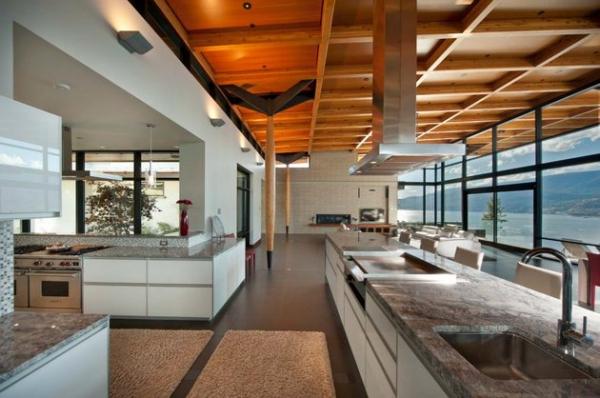 Modern lakeside house Kelowna Canada (5)